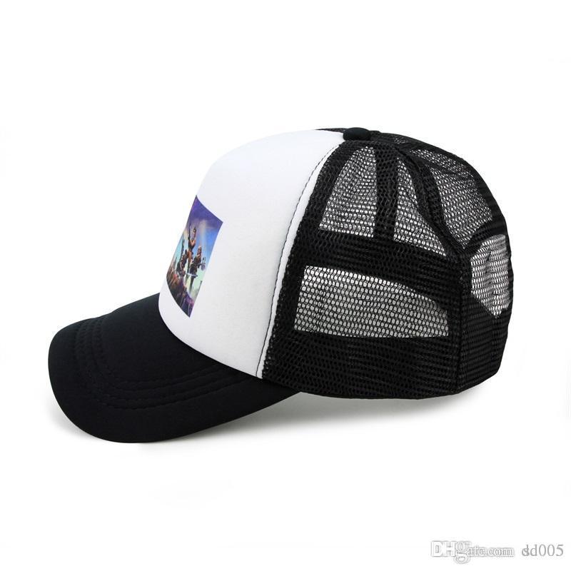 Men Women Battle Royale Cap Fortnite 3D Printing Snapback Hats Fashion Sun  Visor Hip Hop Dance Style Fitted Hats Casquette 11gl ZZ 56a3aaa1b30