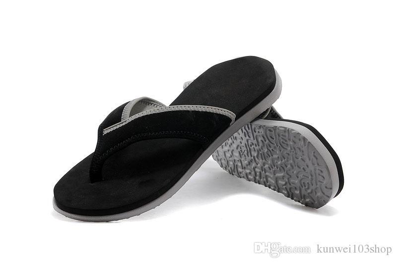b2f3e55c3757 Flip Flops Men Sandals Shoes For Casual Beach Slides EVA Massage Slippers  Designer Flats Summer Men Shoes Portable Shoes Platform Boots Womens  Trainers From ...