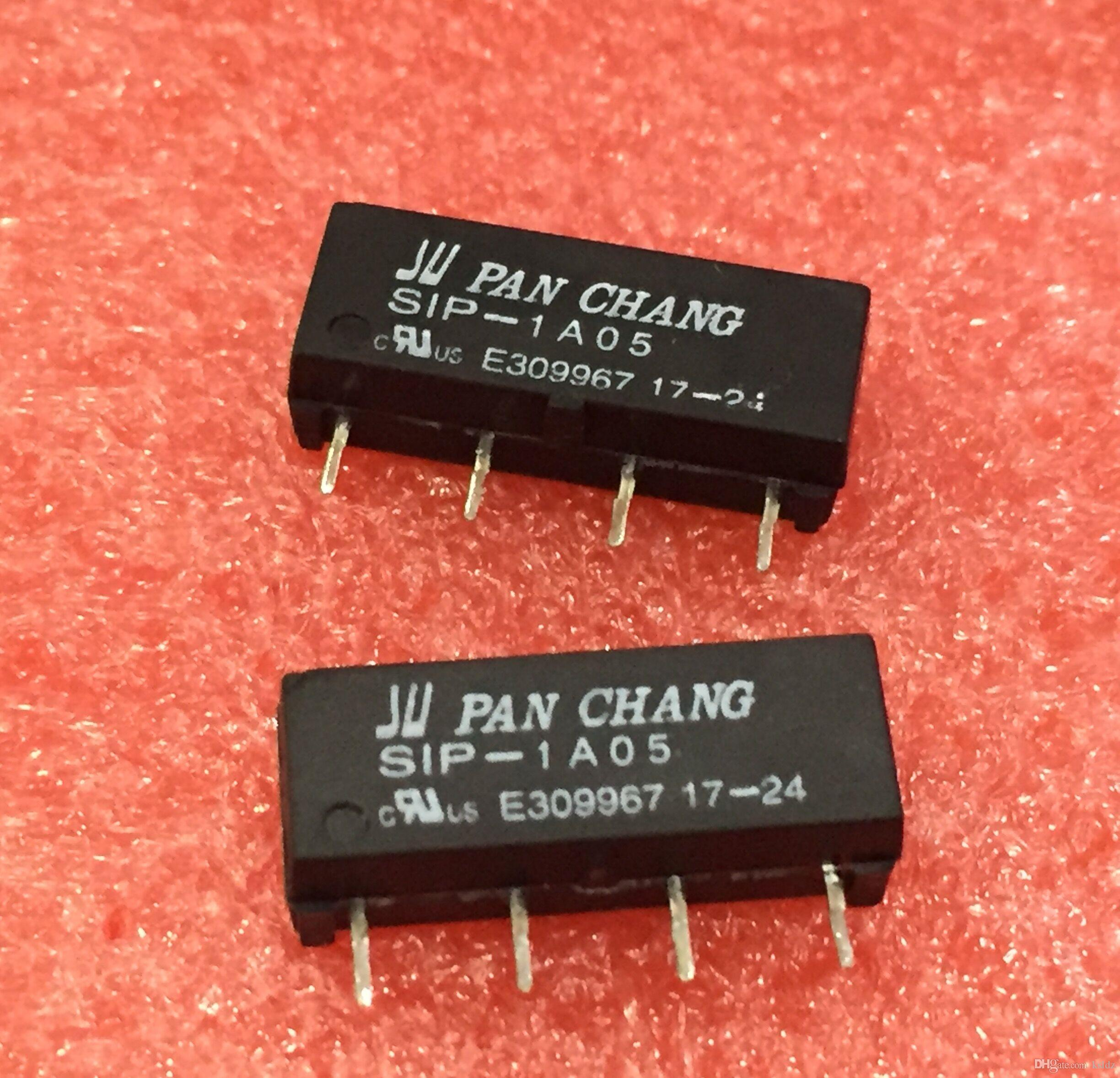 100original New Pan Chang Sip 1a05 5vdc 1a12 12vdc 1a24 Reed Relay Switch Circuit 24vdc 1a Zip 4 Dry Online With 1143 Piece On