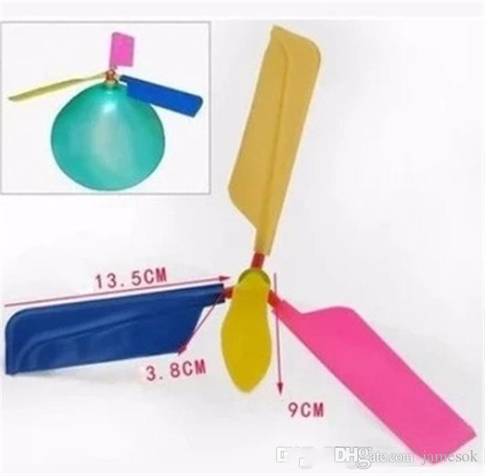Traditional Balloon Airplane Helicopter For Kids Child Party Bag Filler Flying Educational Toys Gifta outdoors Fun balloons b738