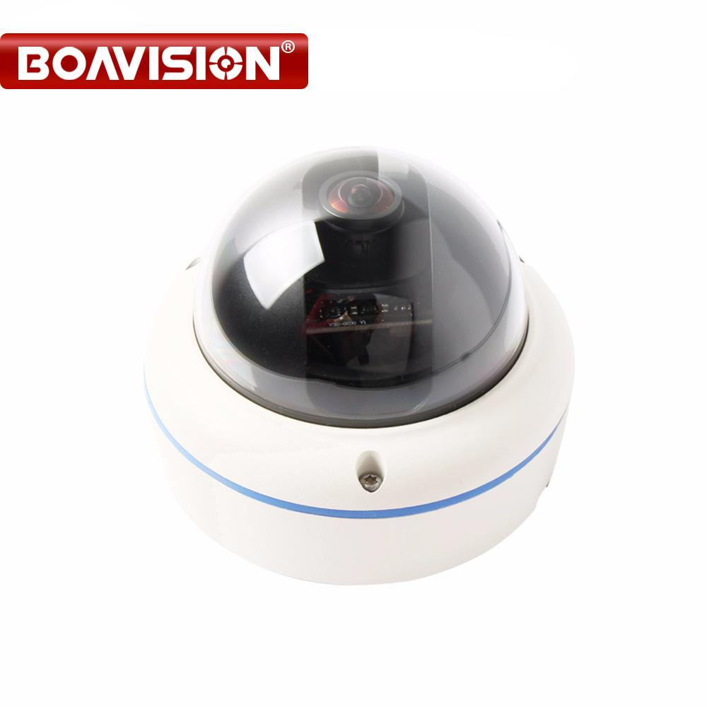 2MP 1080P Fisheye TVI Camera 360 Degree View Angle 1 7mm Lens Panoramic  CCTV Security Camera HDTVI HD Outdoor Use