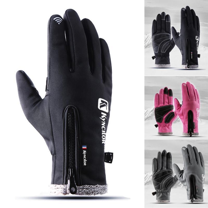 Skiing Gloves Skiing & Snowboarding Precise Winter Ski Snowboard Glove Windproof Waterproof Man And Women