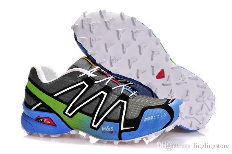 f6ae5a46977ec Satın Al Salomon Speed Cross 3 CS Marka Outlet İNGILTERE Speedcross 3 CS  Trail Koşu Ayakkabı Kadınlar Hafif Sneakers Donanma Solomon III Zapatos Su  Geçirmez ...