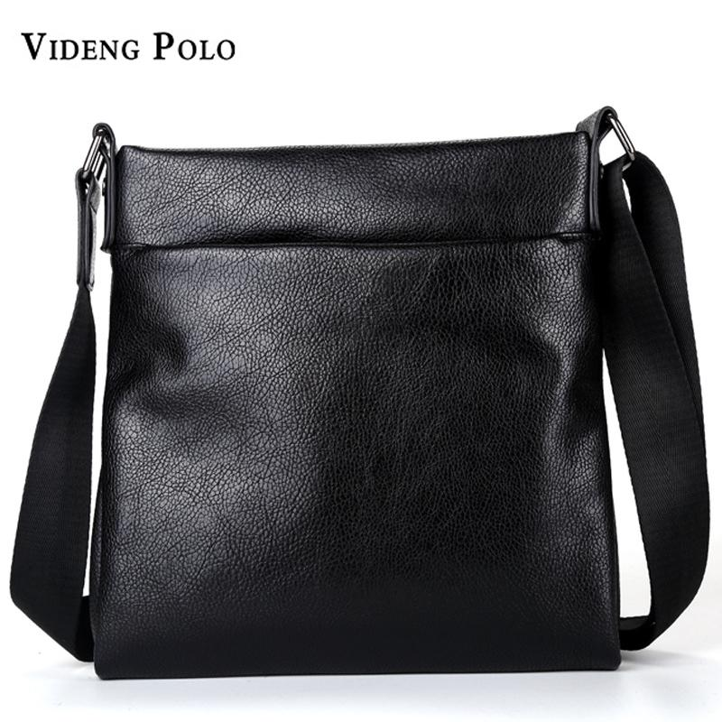 a86730f85c3c VIDENG POLO Men Bag Brand Soft Leather Casual Crossbody Bag High Quality Messenger  Shoulder Male Business Briefcase Handbag Cross Body Purse Hobo Handbags ...
