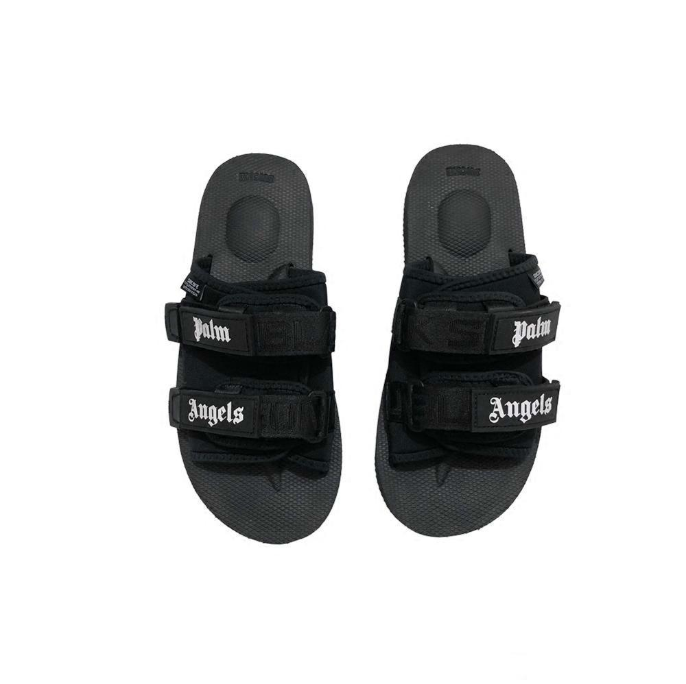 c7c8abe76e17 Fashion NEW Europe Brand Mensstriped Sandals Causal Non Slip Summer  Huaraches Slippers Flip Flops For Men Palm Angels Suicoke Slippers Shoes  For Women Cheap ...