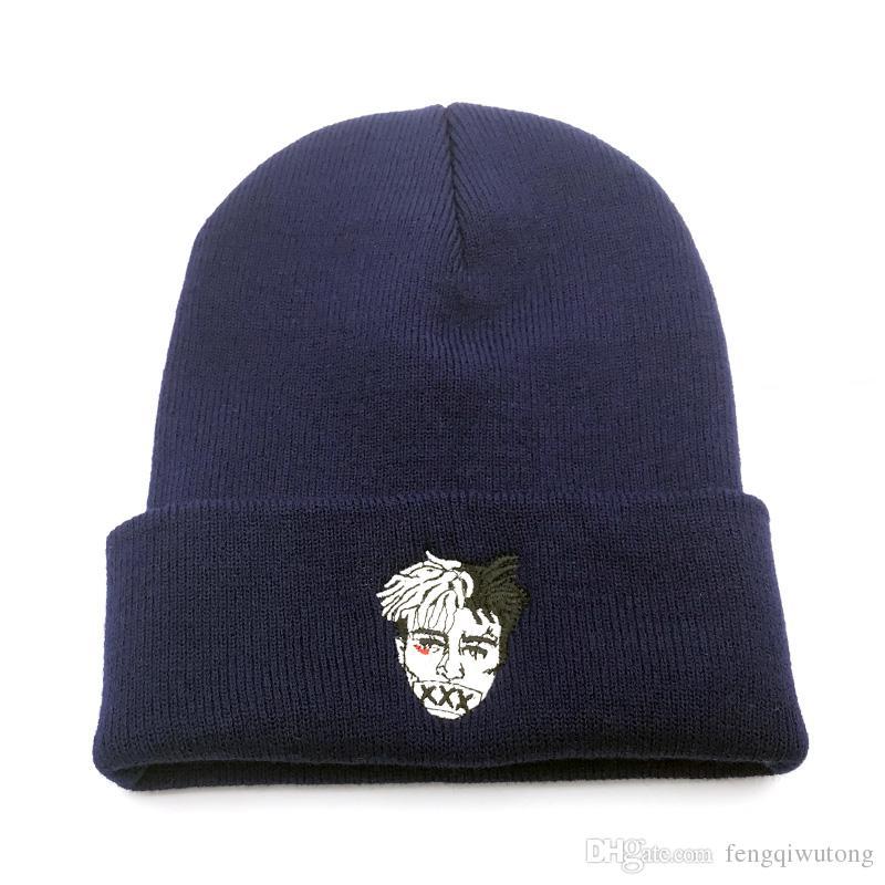 246dd891d68 High Quality Xxxtentacion Dreadlocks Very Casual Beanies For Men Women  Fashion Knitted Winter Hat Hip Hop Skullies Cap Hats Crochet Beanie Beanies  For Girls ...