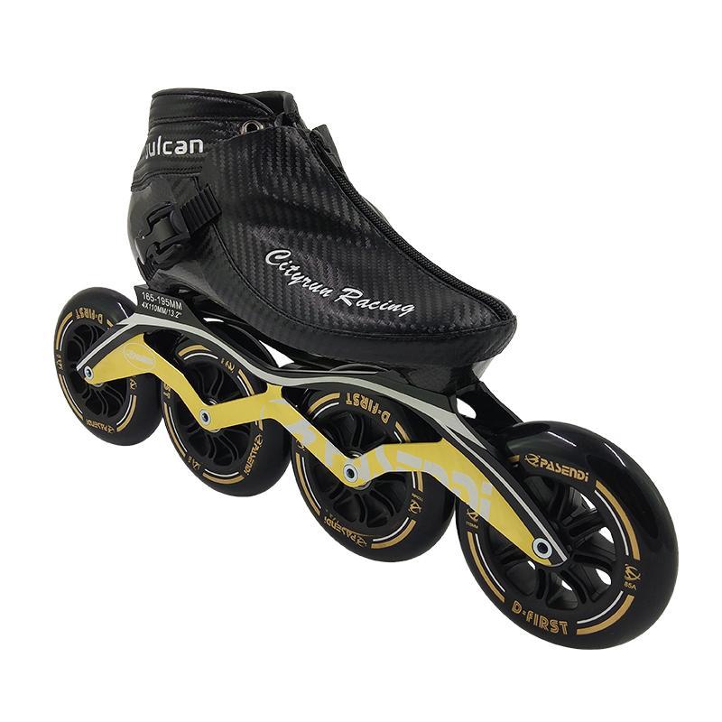 Sport & Unterhaltung Rollschuhe, Skateboards Und Roller Inline Speed Skating-schuhe Kohlefaser Professionelle Inline-rollschuhen 3*125