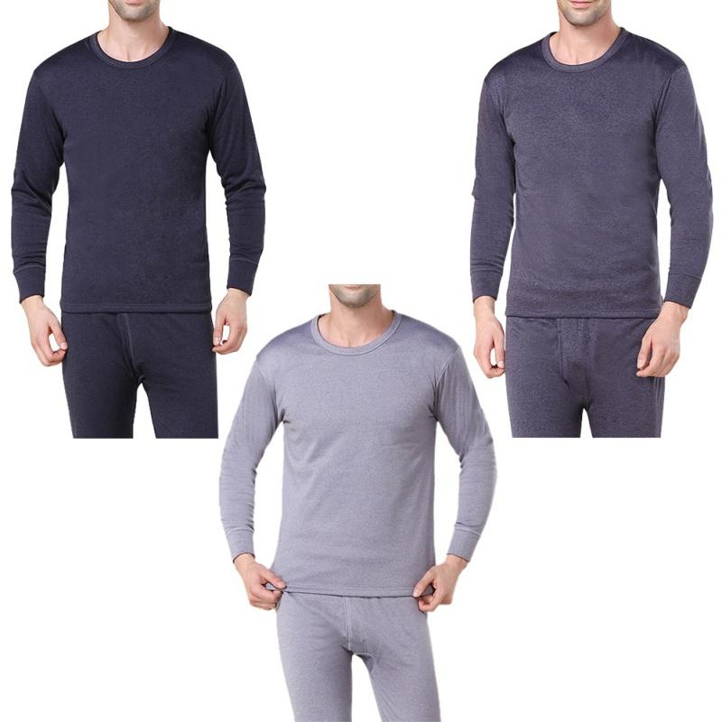 e15d4d1ff0f9 2019 Hot Winter Mens Warm Thermal Underwear Mens Long Johns Sexy Black  Thermal Underwear Sets Thick Plus Velet Long Johns For Man From Yoursuger,  ...