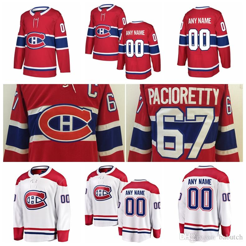 Customized Montreal Canadiens Hockey Jerseys Stitched Any Number Name 67  Max Pacioretty C 65 Andrew Shaw 92 Jonathan Drouin Jersey Montreal  Canadiens Max ... aedfb55b8