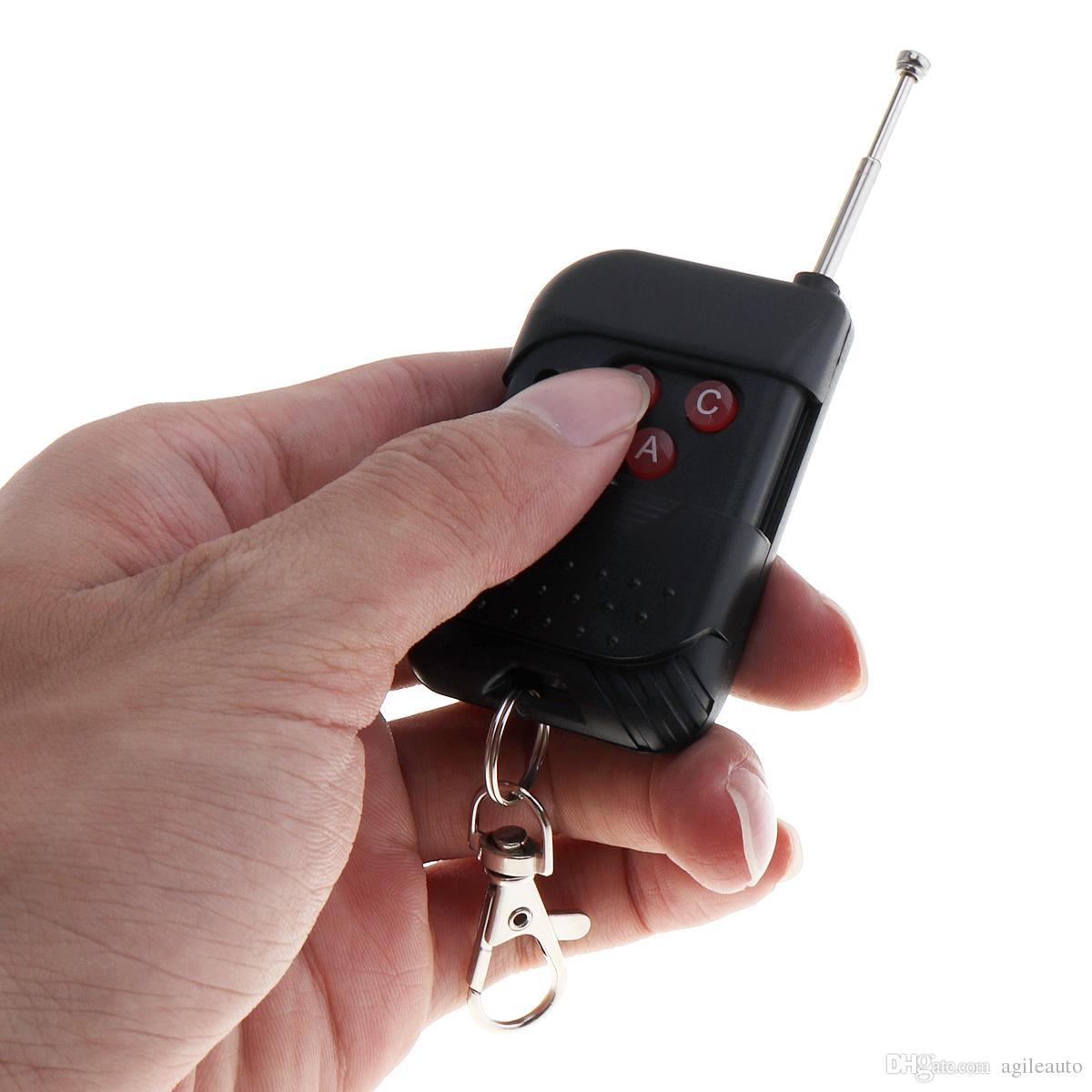 12V 100W 7 Sound Loud Car Altoparlante Avviso Allarme Polizia Fire Siren Horn Speaker Tromba con Telecomando Nero AUP_438