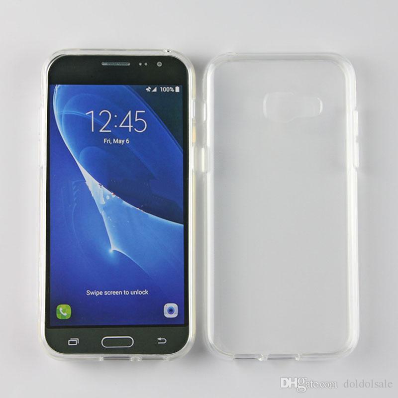 315c1260ec2 Accesorios Para Smartphone Funda De Cojín De Aire Para Samsung Galaxy A3 A7  2016 A3 A5 A7 2017 Ultra Claro Transparente Funda De Piel Suave TPU Carcasas  ...