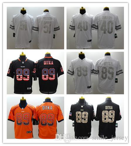 bb73058e3 Mens 89 Mike Ditka Chicago Jersey Bears Football Jersey Stitched ...