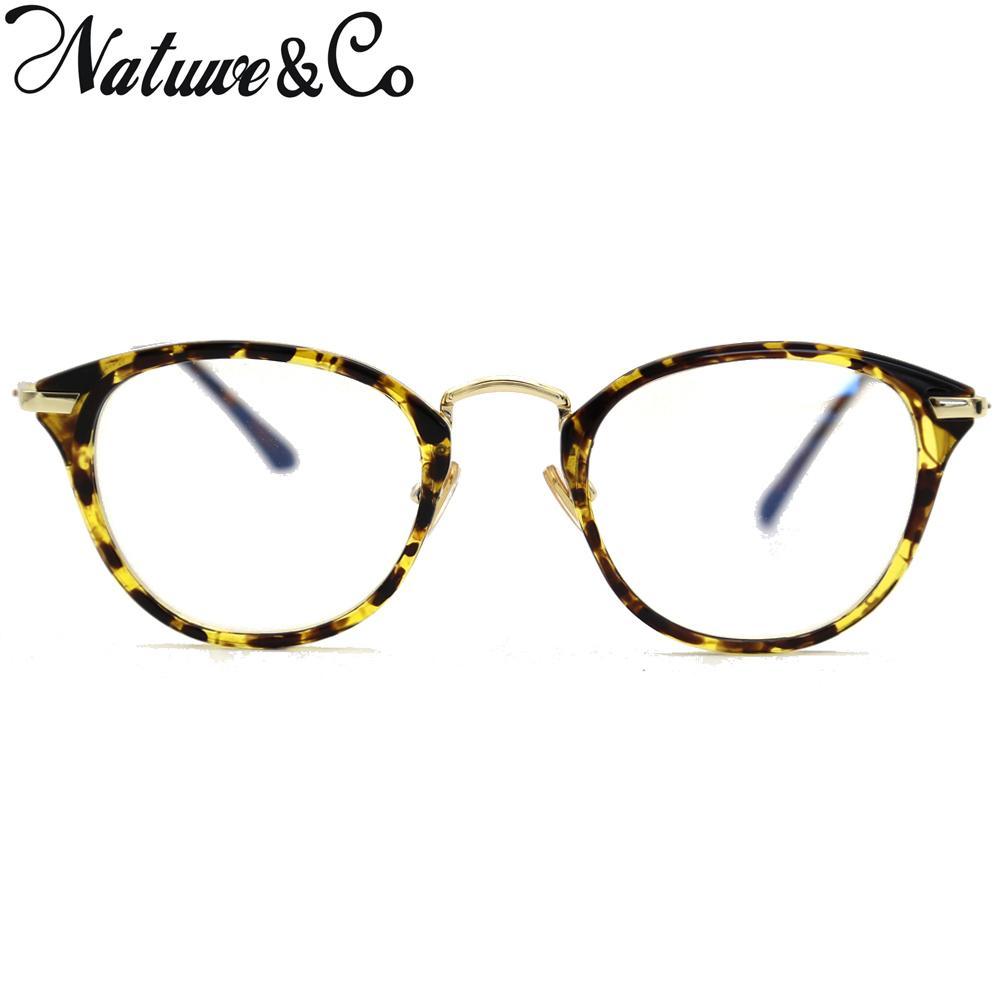 23f216f787 Compre NatuweCo Vintage Cat Eye Glasses Frame Retro Moda Lentes  Transparentes Lentes De Plástico 85037 A $21.87 Del Rainbowwo | DHgate.Com
