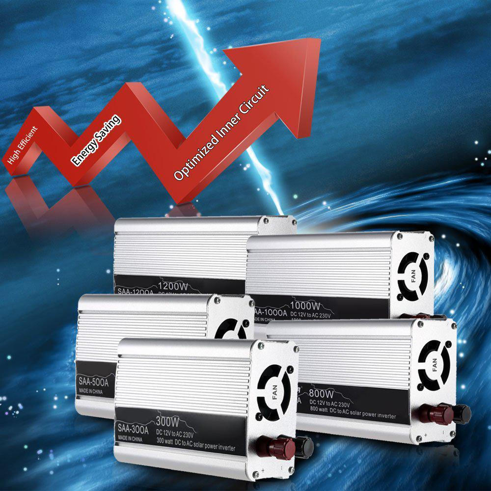 Transformer 1200w Watt Dc 12v To Ac 220v Modified Sine Wave Portable Wiring Car Power Inverter Adapater Charger Converter