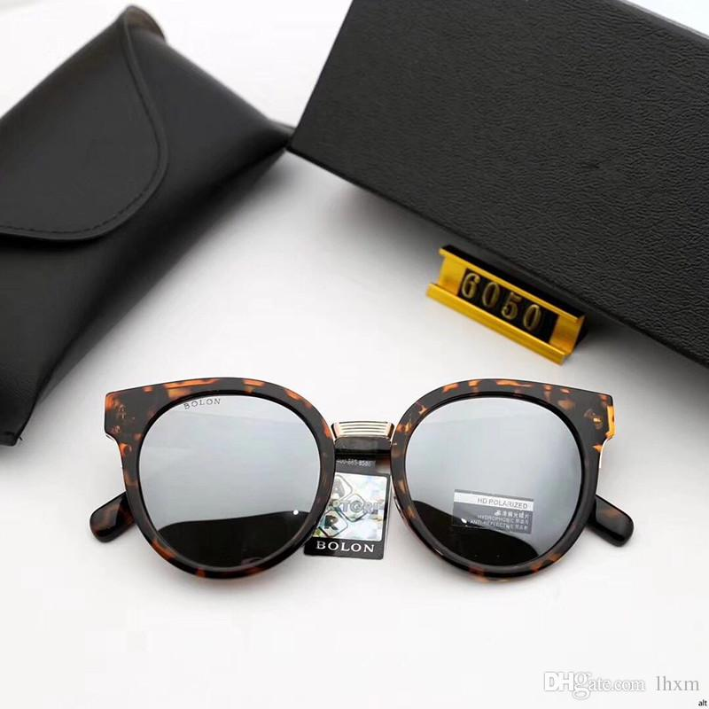 Occhiali da sole di alta qualità BL6050 Occhiali da sole da uomo donna Occhiali da sole classici di marca da spiaggia, occhiali da sole UV400