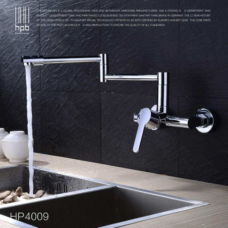 Best Hpb Copper Wall Mounted Kitchen Faucet Sink Bathroom Faucets ...