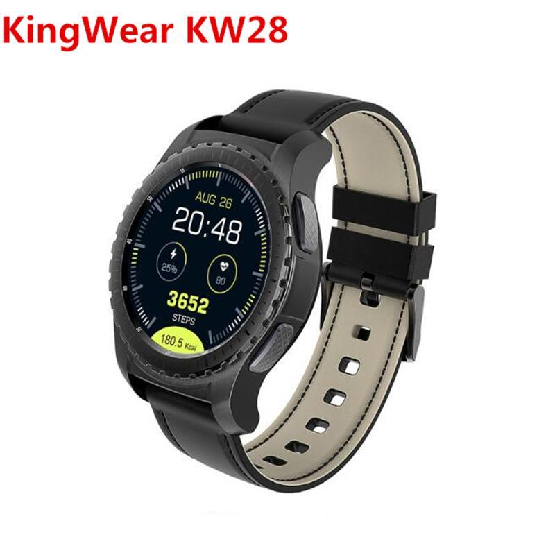 KingWear KW28 PK KW88 gear s2 s3 kw18 Smartwatch Phone 1 3 inch Smart watch  Sedentary Reminder Heart Rate Monitor Remote Camera