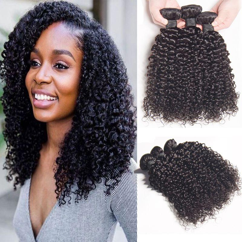 8a Brazilian Kinky Curly Hair Bundles Mink Brazilian Afro Kinky
