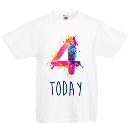 birthday number 4 shirts