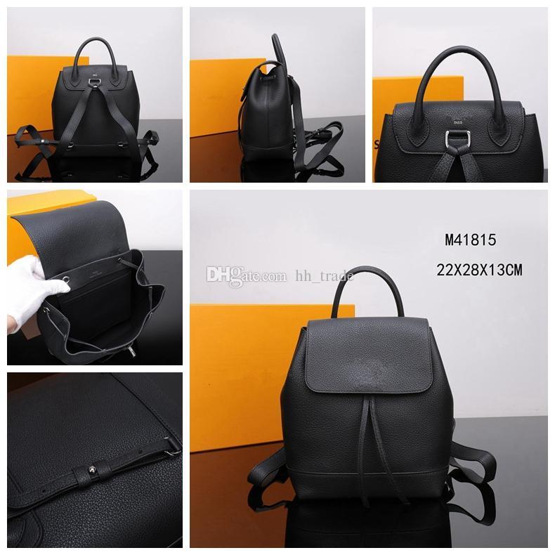 2018 Brand Fashion Luxury Designer Bags Paris Genuine Leather 2018 Famous  Designer Women Handbags Shoulder Bags Purses Schoolbag Packpack College  Backpacks ... 862d5176ec