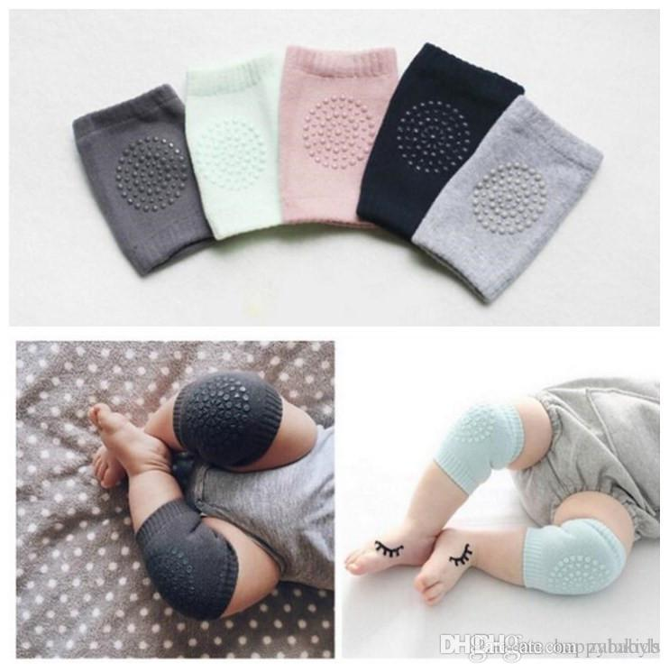 a59096633c Infant Leg Warmer Baby Soft Crawling Safety Kneecap Toddler Girls Boys  Combed Cotton Protector With Glue Knee Pads Choose Knitted Socks Brand  Socks From ...