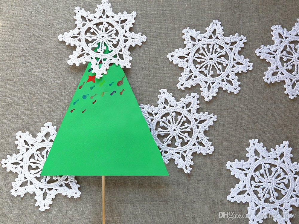 snowflake decorations crochet snowflakes christmas ornaments winter decoration christmas tree decoration christmas decoration home decorating for - Snowflake Christmas Decorations