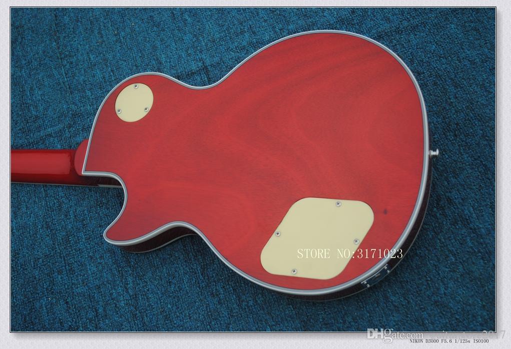 Custom Shop Sunburst tastiera in ebano Chitarra elettrica Chitarra cinese