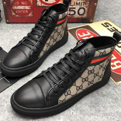 brand designer classic high collar canvas shoe brand