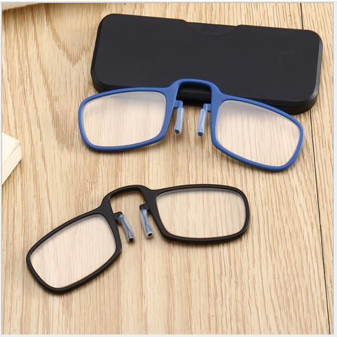 18d90dea69 Compre Gafas De Lectura Nueva Moda Clip Nariz Portátil Personalidad Vieja  Luz Espejo A $7.11 Del Lxlpearl | DHgate.Com
