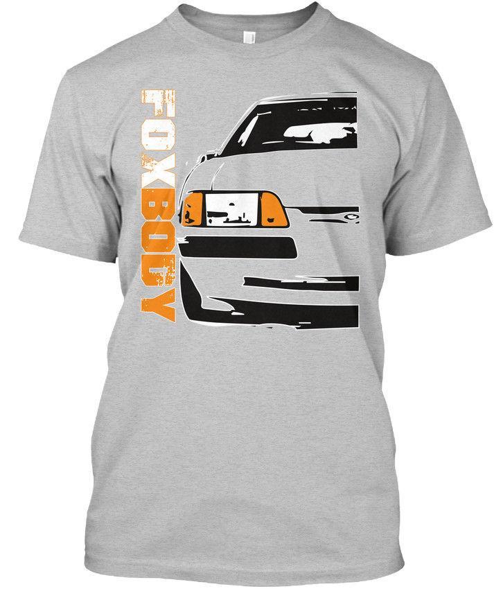 Grosshandel Foxx Racing Foxbody Mustang 3 Generation Premium Tee T