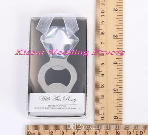 Wedding Gift For Guests Of Sparkle And Pop Diamond Bottle Opener