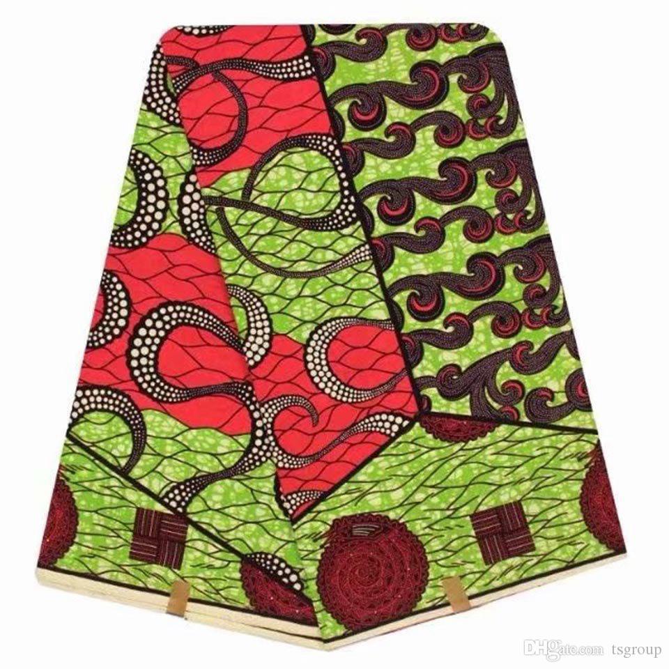 502fe9e0f26 Acheter Tissus Imprimés Africains De Cire De Coton Vert