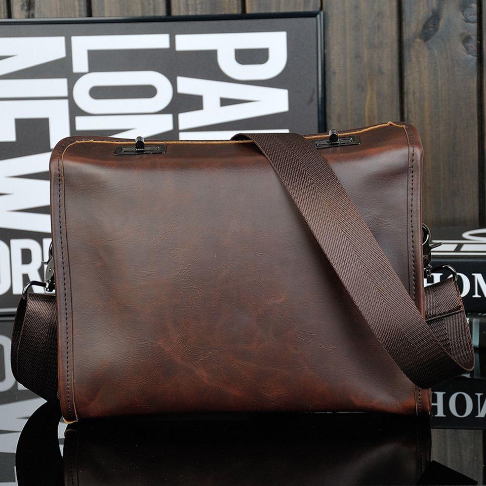 3c6acef9181 Xtrend Brand Leather Men Bag Male Messenger Bag Men Leather Shoulder Bags  Small Ipad Holder Flap 2018 New Men S Crossbody Bags Leather Briefcase For  Men ...