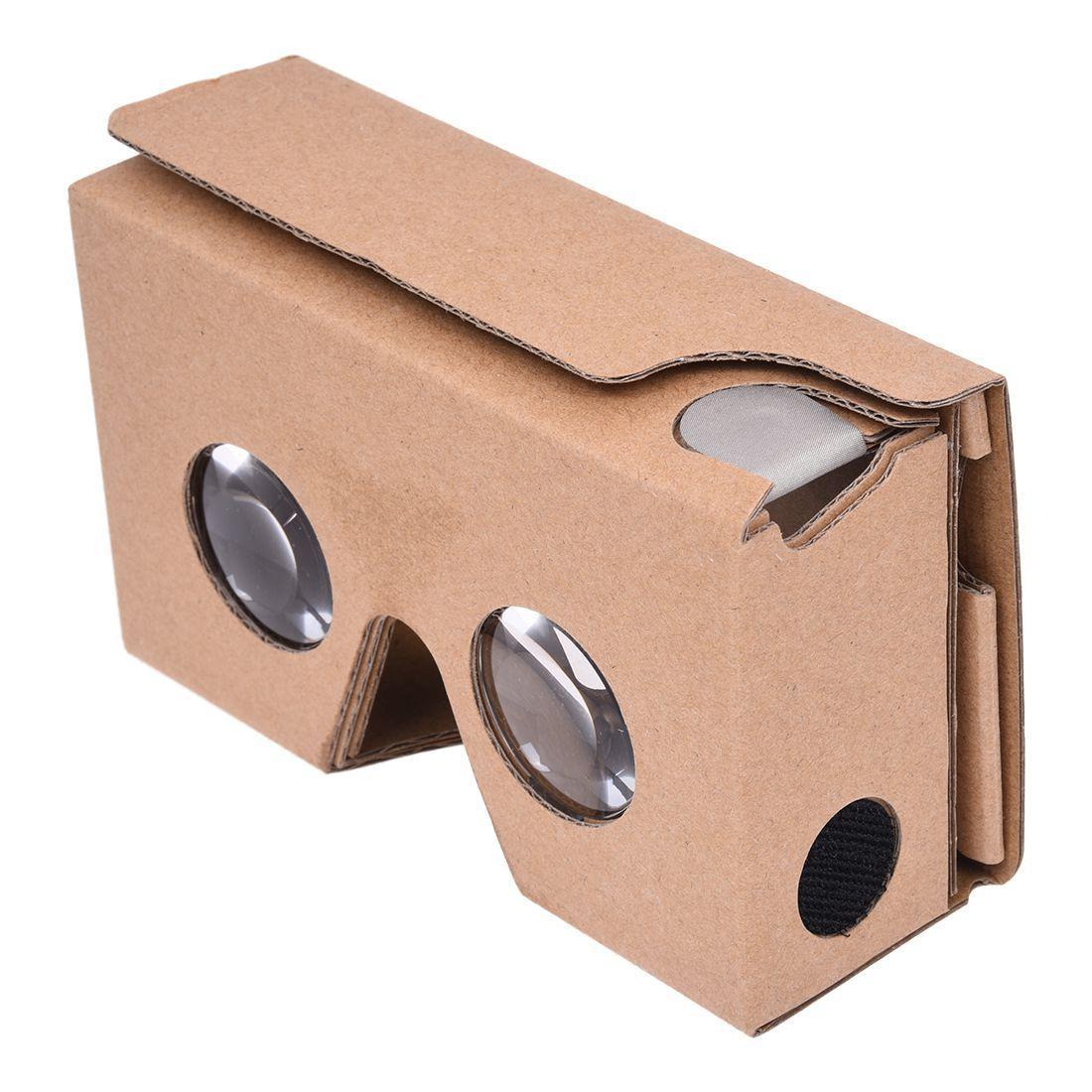 Lunettes 3d Realite Virtuelle Diy 3d Google Glasses Carton