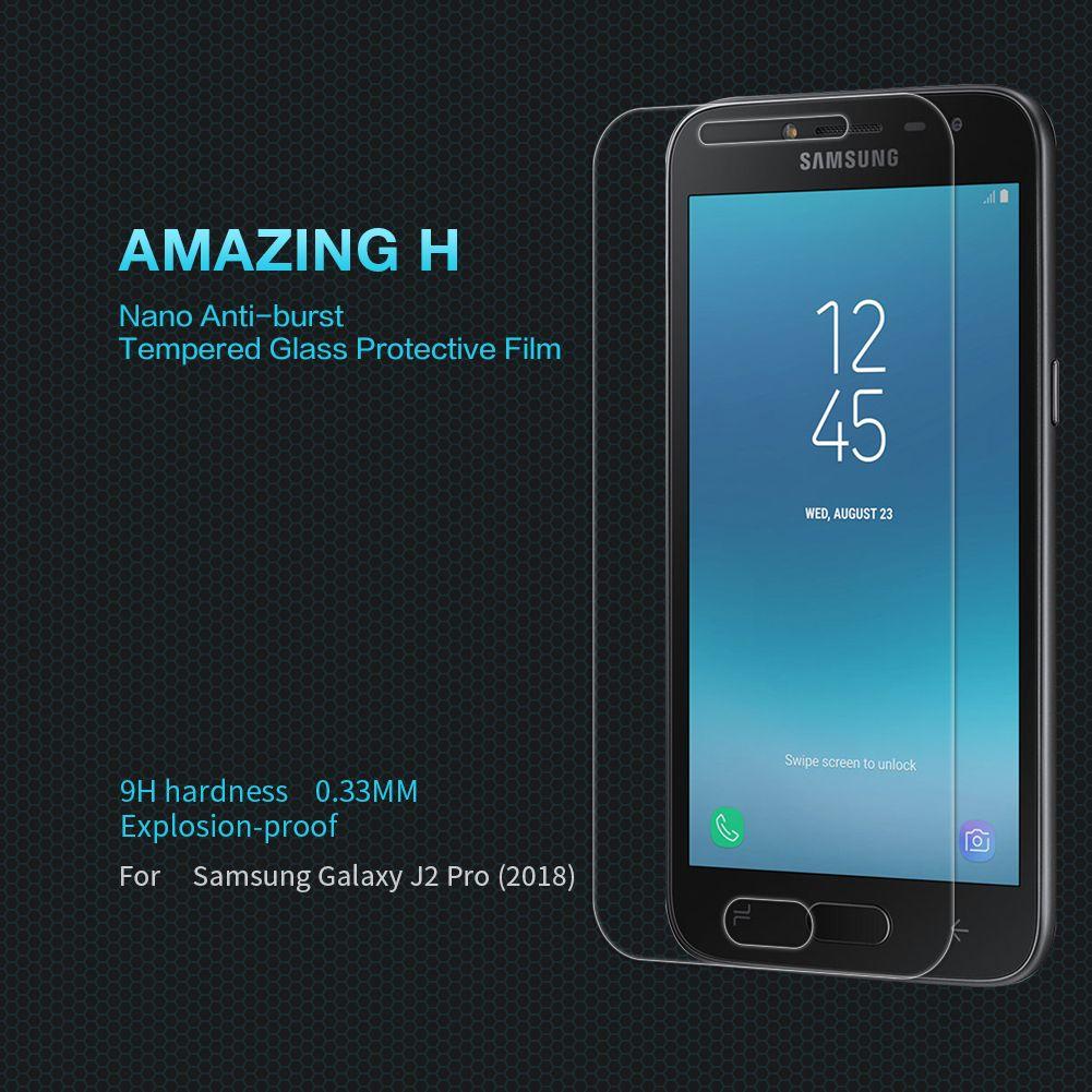Protection Ecran Verre Pour Samsung Galaxy J2 Pro 2018 Verre Trempé