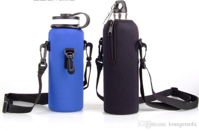 Wiederverwendbare Sport-Wasser-Flaschen-Abdeckungs-Isolator-Beutel-Kasten-Beutel-waschbarer Spielraum-Kessel-Flaschen-Kasten für 1000ML im Freiengeräte 11jy X