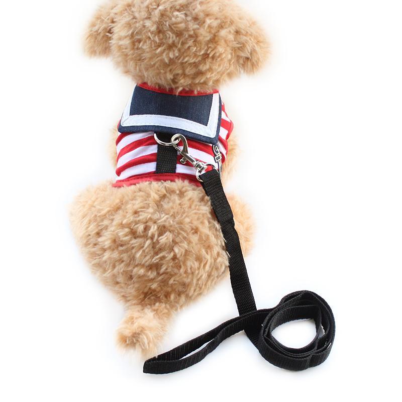 armi store stripe lapel dog harness cloth 2018 armi store stripe lapel dog harness cloth chest strap vest dogs