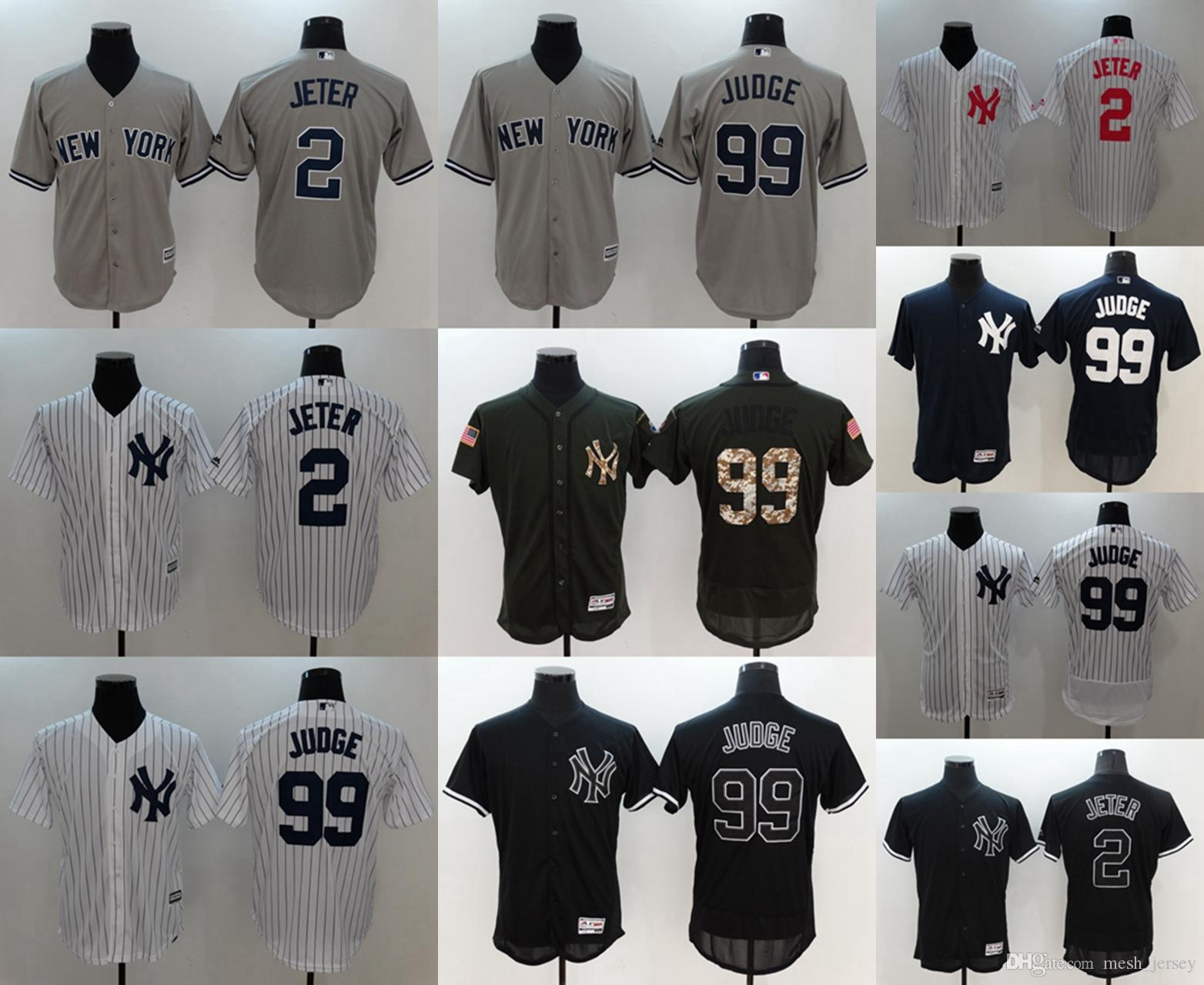 buy online e9384 91d76 New York CUSTOM Yankees 99 Aaron Judge Mens Women Youth Customized Majestic  Stitched Baseball Jerseys Personal name Person number
