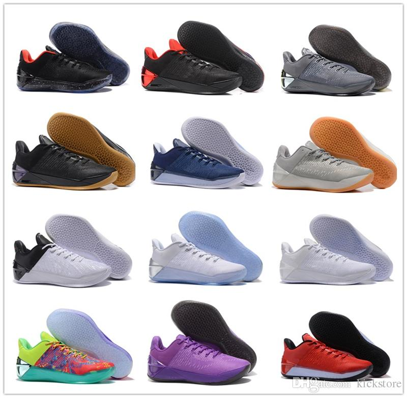 d5a7ce7c6b2632 Kobe 12 A.D EP Mens Basketball Shoes For Men Kobe XII Elite Sports KB 12s  AD Low Sports Trainers Sneakers Size US41 46 Basketball Shoes For Kids  Basketball ...