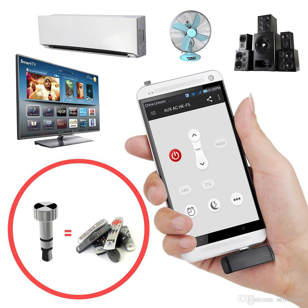 High Quality Universal Remote Control Infra Red TV/DVD for iPhone For iPad  For iPod silver