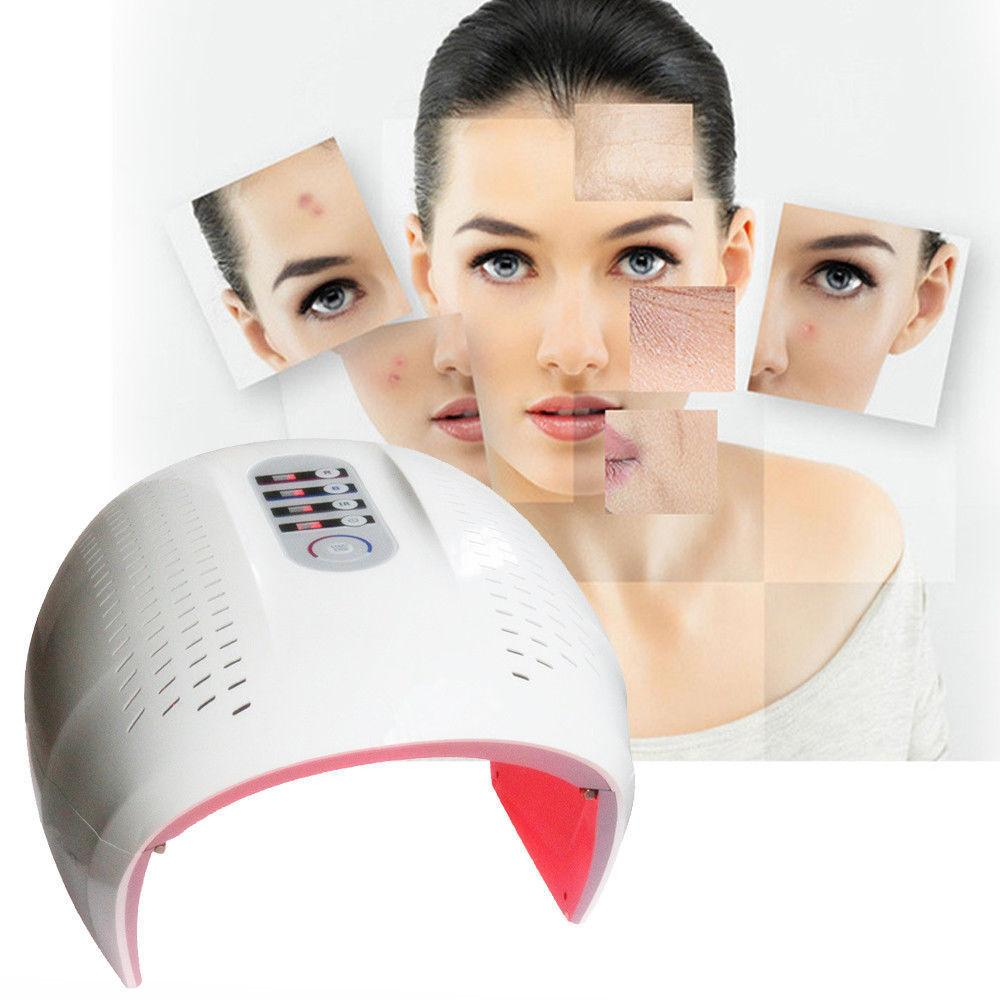 LED Light PDT Therapy Acne Treatment Machine Red,Blue, IR Light LED Face Mask Anti-Aging Skin Rejuvenation