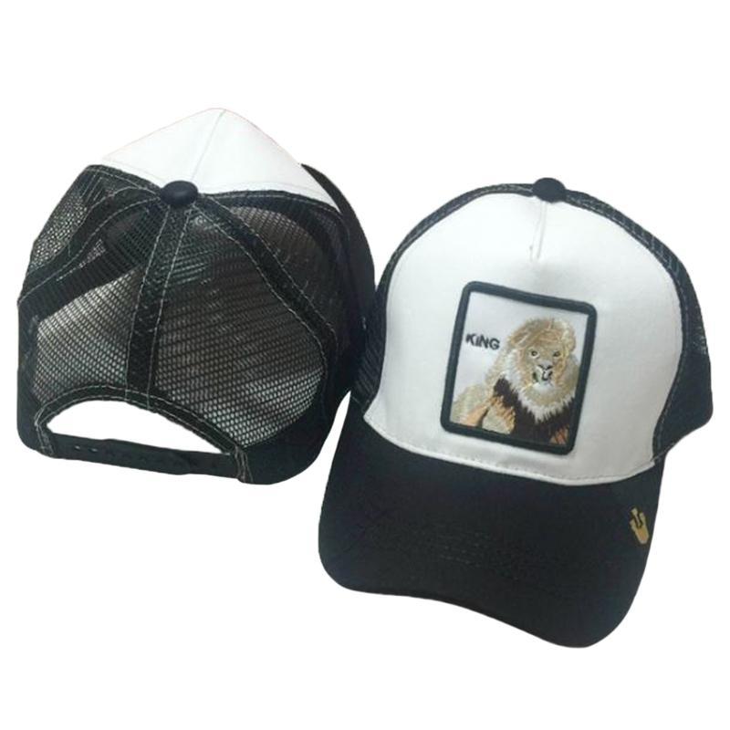Compre Gorra De Béisbol Unisex Animales Parche Bordado Clásico Snapback Hip  Hop Malla Camionero Sombrero Para El Sol Sombrero Casual A  10.33 Del ... 6cb8ce371bd