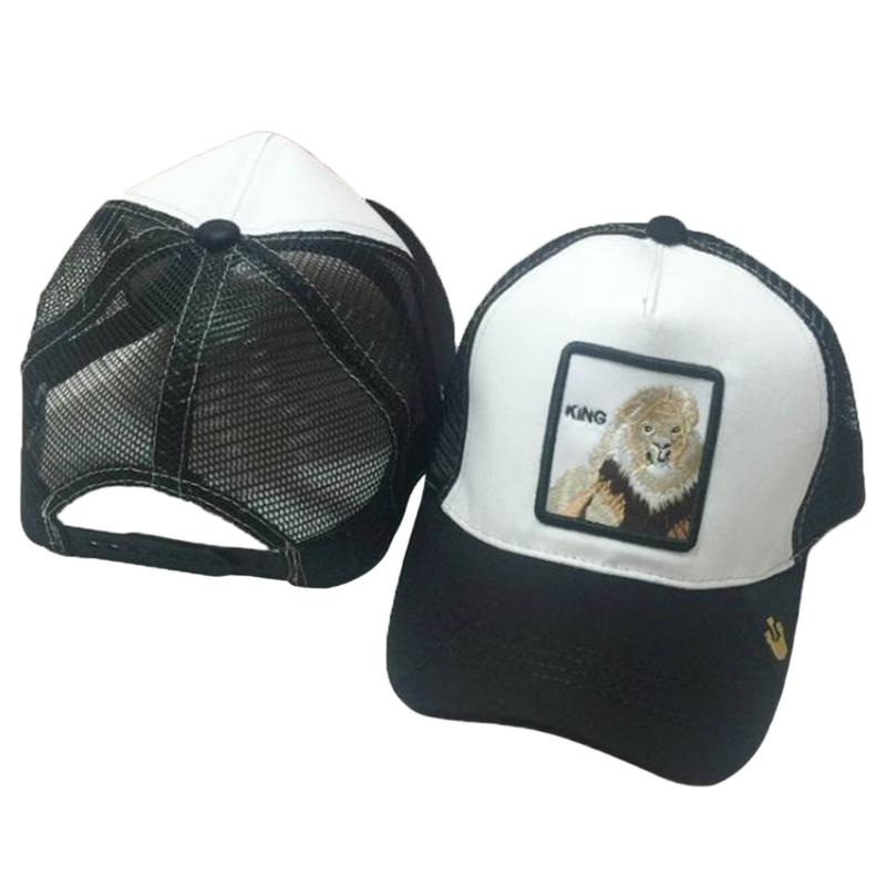 c99fb33ec44 Unisex Baseball Cap Animals Embroidery Patch Classic Snapback Hip ...