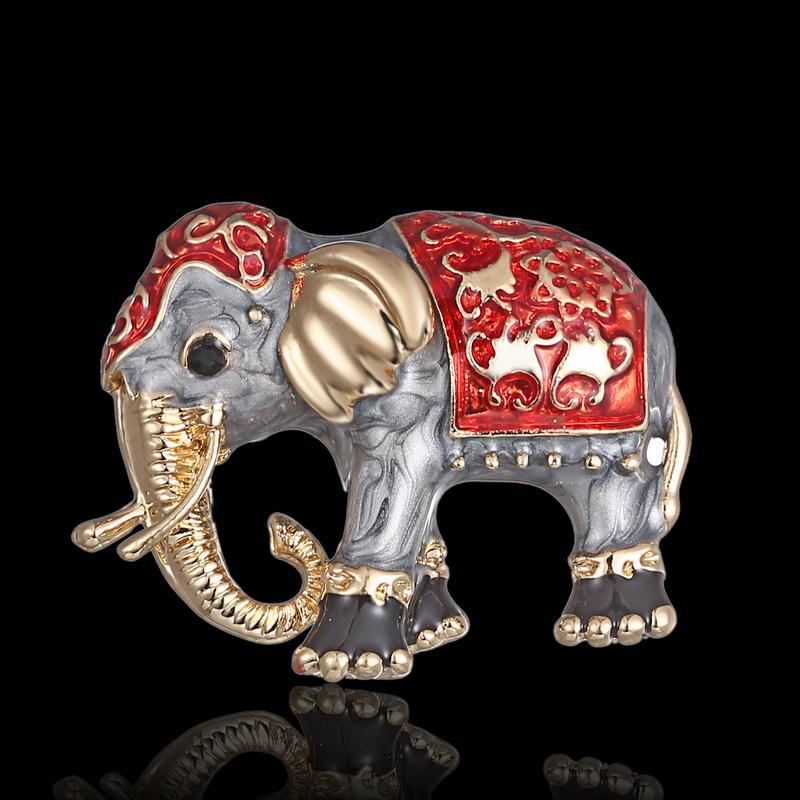 Природные животные брошь булавки слон Скорпион собака лягушка броши для женщин Кристалл брошь ювелирные изделия аксессуары Бесплатная доставка