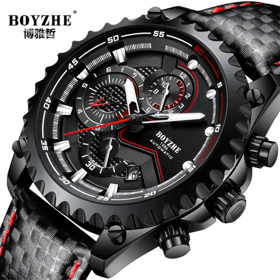 3d Dial Mens Automatic Mechanical Watch Top Brand Luxury Watches Men