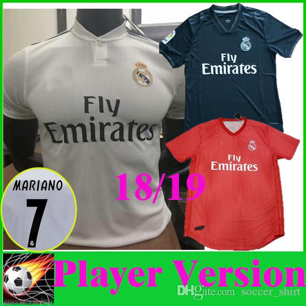 Maillot THIRD Real Madrid Mariano