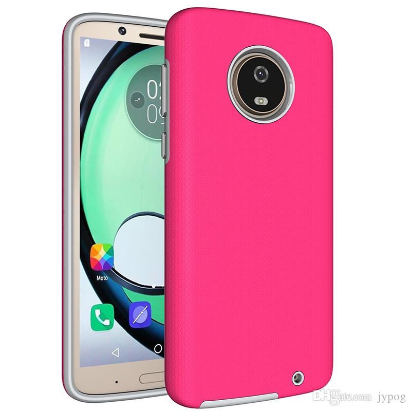 For MOTO G6 G6 PLUS Case 2in1 Hybrid Dual Layer Heavy Duty Shockproof Phone Cases For MOTO G6