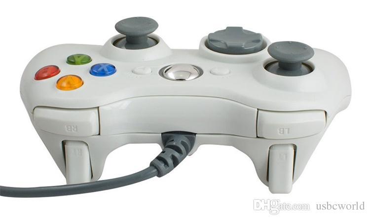 Горячий USB проводной джойстик геймпад контроллер для Xbox 360 джойстик контроллер для официального Microsoft PC для Windows 7 / 8 / 10