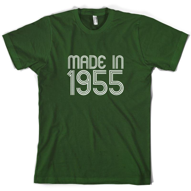 Made In 1955 Mens 60th Birthday Present Gift T Shirt 10 Colours Trendy Shirts For Men Funny From Shirtifdesign 1101