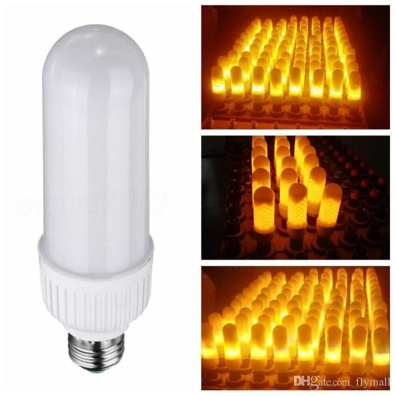 5w 2835smd Led Flame Lamp E27 B22 1800k 3 Modes Flickering Fire Light Bulb Corn 85 265v Decorative Flaming Lighting Candelabra Bulbs 168